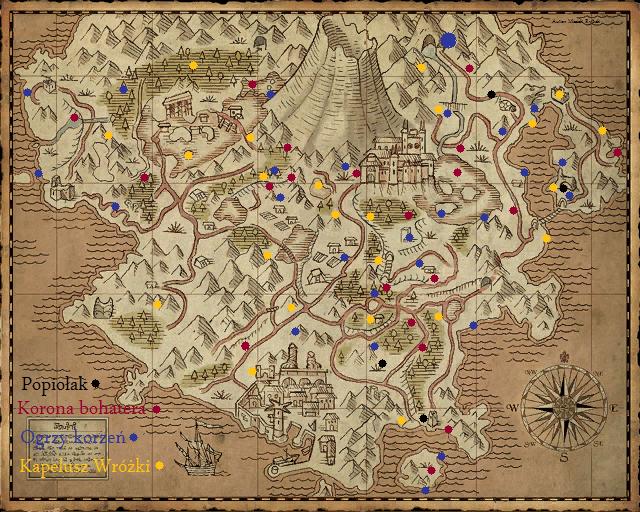 Mapa roślin
