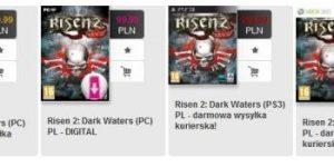 Ceny Risen 2: Dark Waters z portalu Muve.pl