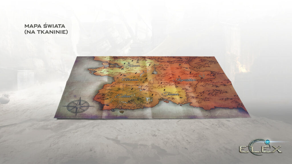 ELEX mapa
